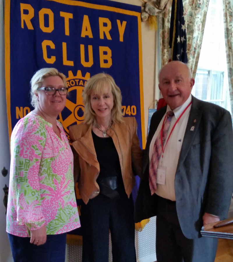 QU President Judy Olian with President Marybeth and Program Chair PP Dick