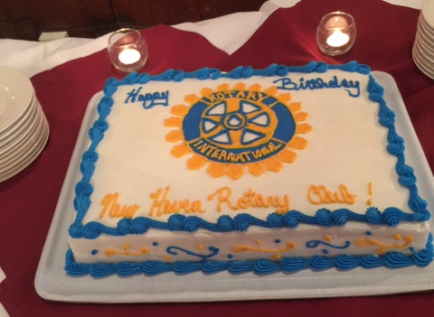 The Club Celebrated our 100th birthday with a beautiful cake!
